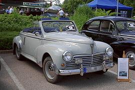cabriolet 203