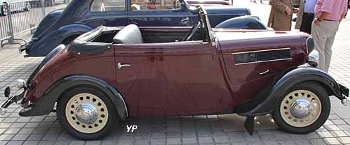 cabriolet 3 places