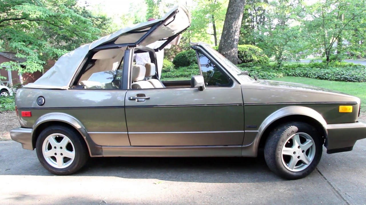 cabriolet 89 vw