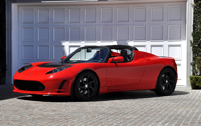 cabriolet tesla rouge